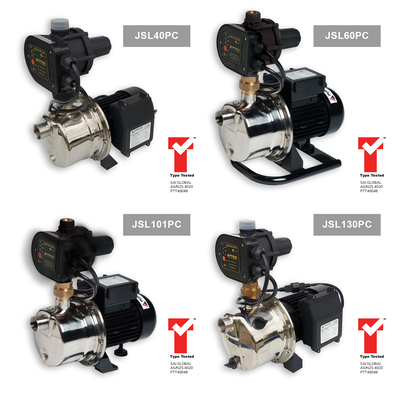 JSL Series Horizontal Self-Priming Jet Pumps