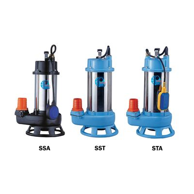 Submersible Shredder/Cutter Pumps